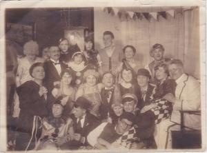 Gesellschaft 1920 Fasching