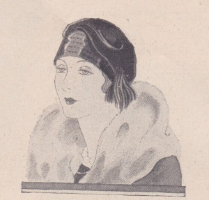 samtkappe 1928 flappers