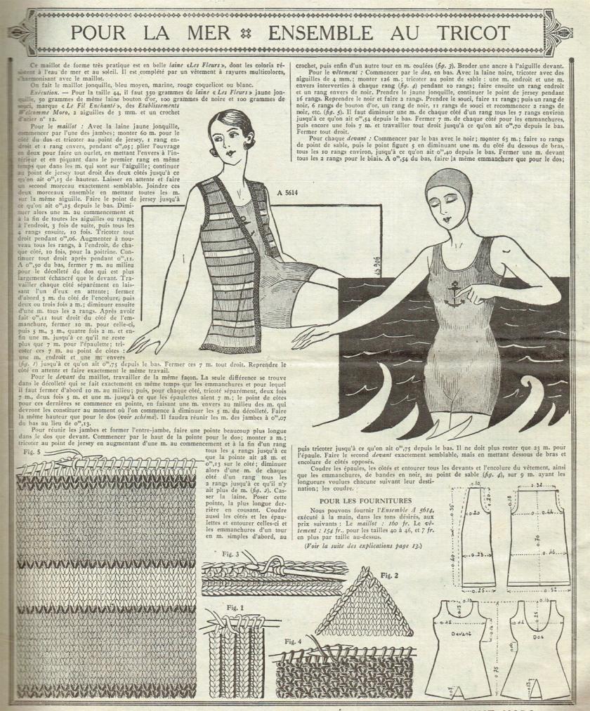 badetricot 1932